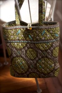 Like-new Vera Bradley satchel I found at Vera Fran Consignment Boutique